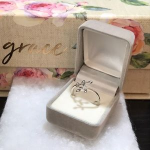 ✅ Minimalist🌿💍Leaves Branch Ring-Adjustable ring